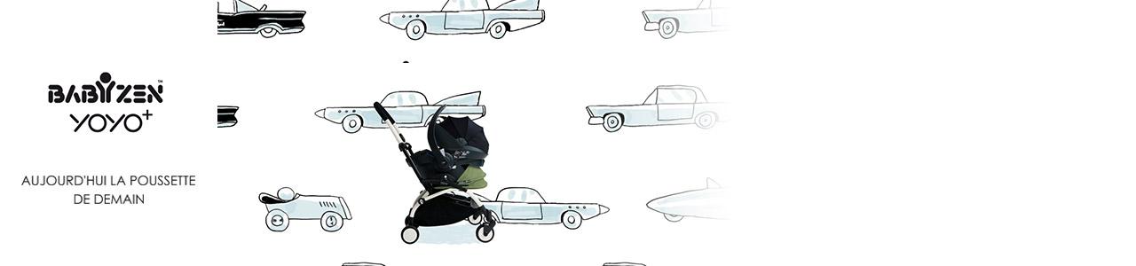 Collection Babyzen Yoyo avec siège auto iZi Go
