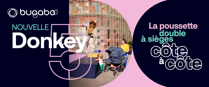 Marque Poussette Donkey 3 duo