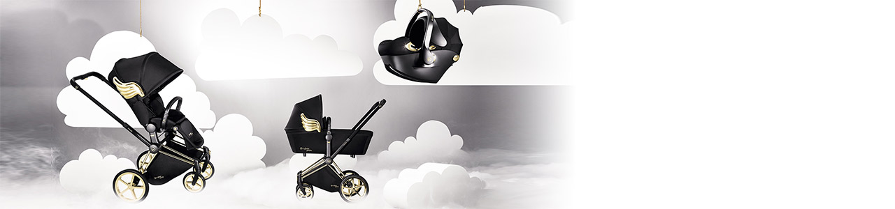 Collection Poussette PRIAM LUXE WINGS BY JEREMY SCOTT