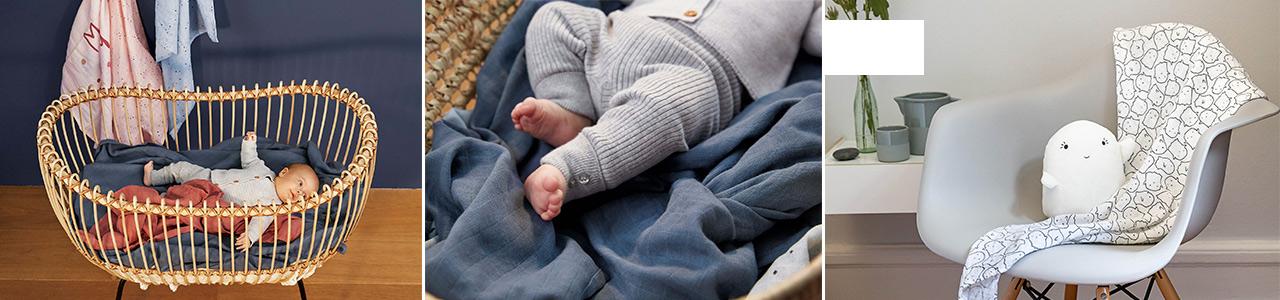 Collection Langes et écharpe d'allaitement