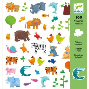 Djeco - DJ08841 - Stickers - Animaux (102594)