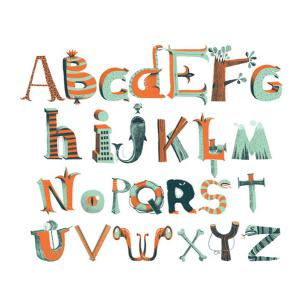Djeco - DD04530 - Stickers muraux moyens - Alphabet des pirates (102666)