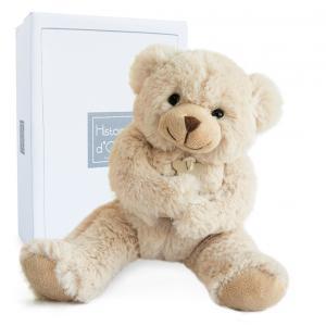 Histoire d'ours - HO1154 - Calin'ours 25 cm - beige - 25 cm - boîte cadeau (103953)