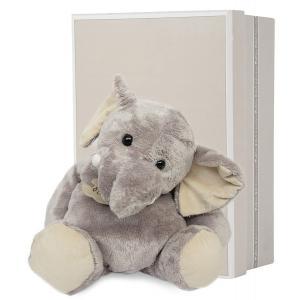 Histoire d'ours - HO1284 - Eléphant 38 cm - boîte cadeau (104134)