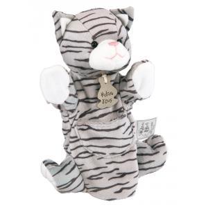 Histoire d'ours - HO1169 - Marionnette chat tigré (104180)