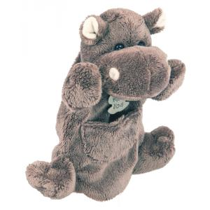 Histoire d'ours - HO1259 - Marionnette hippo - 25 cm (104189)