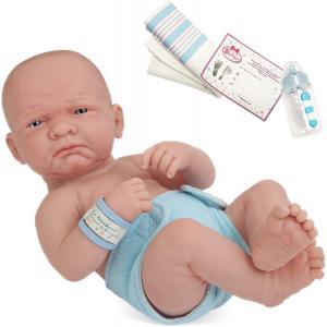 Berenguer - 18500 - Poupon Newborn nouveau né pleureur sexué garçon 36 cm (107620)