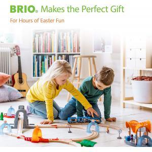 Brio - 33341 - Rails droits longs - 216 mm - Age 3 ans + (1257)
