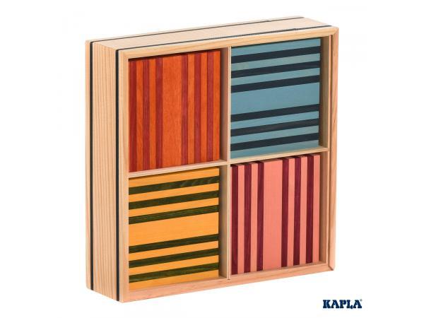 Kapla octocolor, 100 planchettes kapla de 8 couleurs