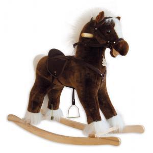 Histoire d'ours - HO1926 - Mon cheval à bascule - CHEVAL A BASCULE LUXE - avec effets sonores (138506)