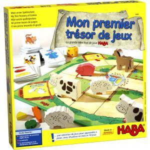Haba - 4686 - Mon premier trésor de jeux (156617)