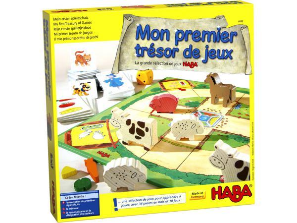 Mon premier trésor de jeux la grande sélection de jeux haba
