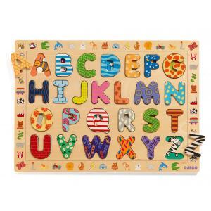 Djeco - DJ01800 - Puzzles éducatifs bois -  ABC (1668)