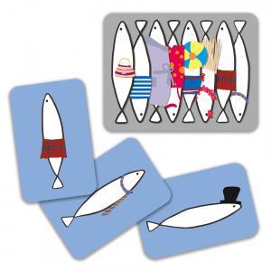 Djeco - DJ05161 - Jeu de cartes Sardines (1695)