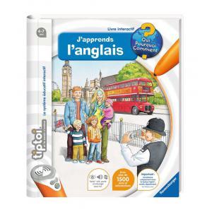 Ravensburger - 00606 - Jeux éducatifs Tiptoi - J'apprends l'anglais (160313)