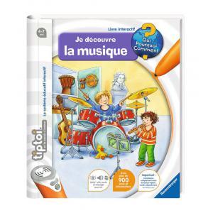 Ravensburger - 00605 - Jeux éducatifs Tiptoi - Je découvre la musique (160315)