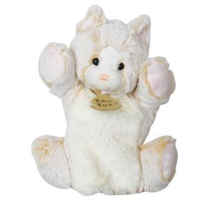 Histoire d'ours - HO2135 - Marionnette z'animoos chat - 25 cm (162151)