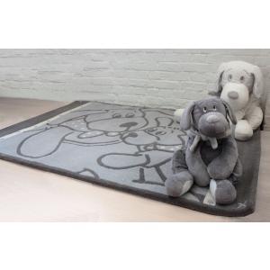 Dimpel - 800020 - Fifi tapis laine 100 x 140 cm - gris-clair (172557)