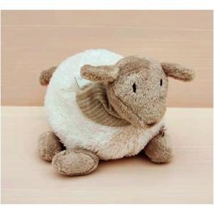 Dimpel - 880334 - Doudou mouton Fidélie 20 cm - blanc (172681)