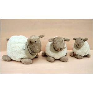 Dimpel - 880347 - Doudou mouton Fidélie 25 cm - blanc (172683)