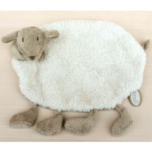 Dimpel - 880373 - Doudou mouton Fidélie  - blanc (172687)