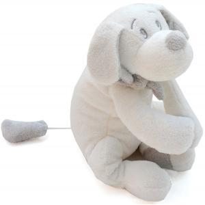 Dimpel - 811252 - Peluche chien musical Fifi blanc (172705)