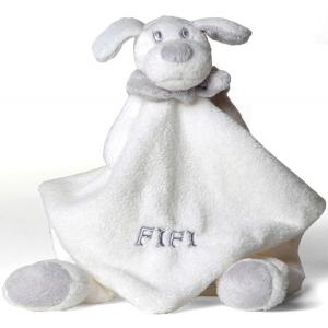 Dimpel - 811291 - Doudou chien Fifi blanc (172707)