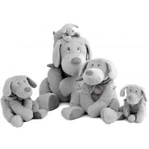 Dimpel - 811187 - Doudou chien Fifi 75 cm - gris-clair (172719)