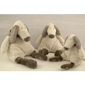 Dimpel - 890175 - Doudou chien Tobias 36 cm - creme (173185)