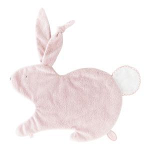 Dimpel - 884403 - Emma lapin doudou classique 32 cm - rose et blanc (173193)