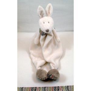 Dimpel - 882141 - Doudou kangourou Yileen - blanc (173201)