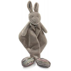 Dimpel - 882297 - Doudou kangourou Yileen gris beige (173209)