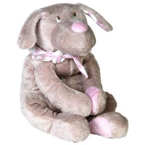 Dimpel - 820014 - Fifi doudou chien 30 cm - beige et rose (173249)
