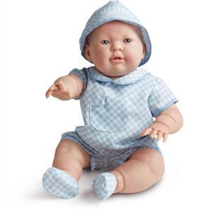 Berenguer - 18902 - Poupée garçon tenue bleue et chapeau - 45 cm (175467)
