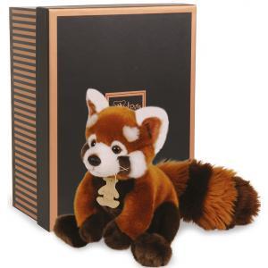 Histoire d'ours - HO2217 - Les authentiques - panda rouge - 20 cm - boîte cadeau (176357)