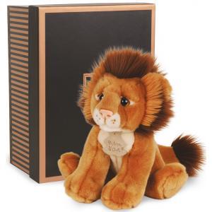 Histoire d'ours - HO2210 - Les authentiques - lion - 20 cm - boîte cadeau (176371)