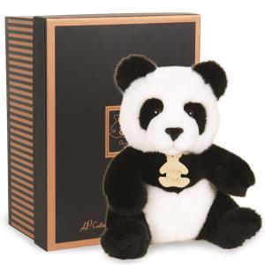 Histoire d'ours - HO2212 - Les authentiques - panda - 20 cm - boîte cadeau (176375)