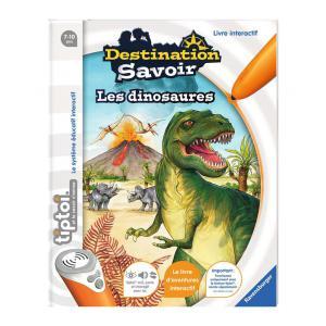 Ravensburger - 00599 - Jeux éducatifs Tiptoi - Destination Savoir - Les dinosaures (180473)