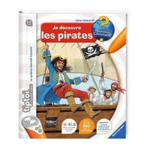 Ravensburger - 00591 - Jeux éducatifs Tiptoi - Je découvre les pirates (180479)