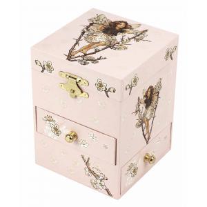 Trousselier - S13003 - Boite à Musique Fée Cerisier - Flower Fairies© - Figurine Fée (183175)