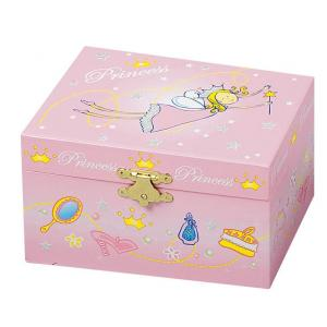 Trousselier - S50502 - Coffret Musical Princesse - Rose - Figurine Princesse (183345)