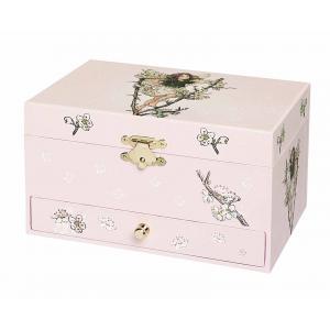 Trousselier - S60614 - Boite à Bijoux Musicale Phosphorescente Fée Cerisier - Flower Fairies© (183409)