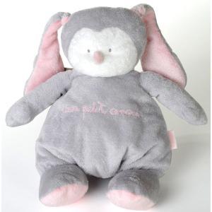 Dimpel - 883012 - Peluche poupée Baby Amour Pink gris clair (199697)