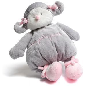 Dimpel - 883090 - Peluche poupée Baby Poupée Pink gris clair (199703)