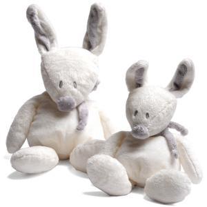 Dimpel - 883207 - Bibi doudou lapin 15 cm - blanc (199705)