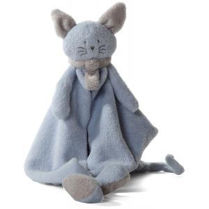 Dimpel - 822224 - Cléo doudou chat - bleu et beige-gris (199761)