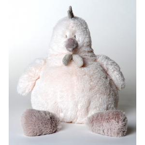 Dimpel - 882336 - Peluche poule Corine 25 cm blanche (199779)