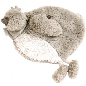 Dimpel - 882427 - Doudou poule Corine beige grise (199793)