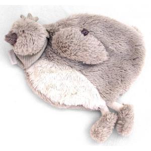 Dimpel - 882427 - Corine doudou poule - beige-gris (199793)