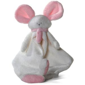 Dimpel - 822341 - Mona souris doudou - blanc et rose (199839)
